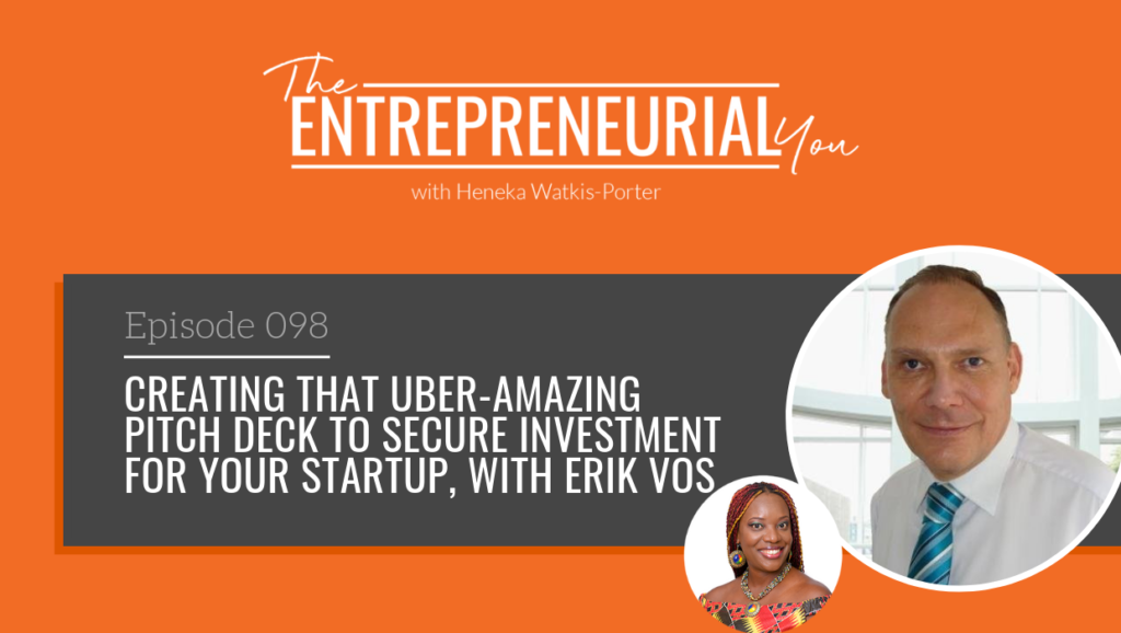 Episode 098 – Creating that Uber-Amazing Pitch Deck to